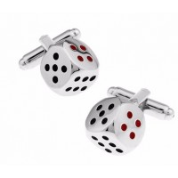 Casino Dice Cufflinks