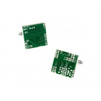 Circuit Board IT Cufflinks