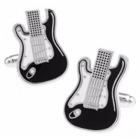 Fender Strat Guitar Cufflinks