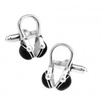 DJ Headphone Cufflinks